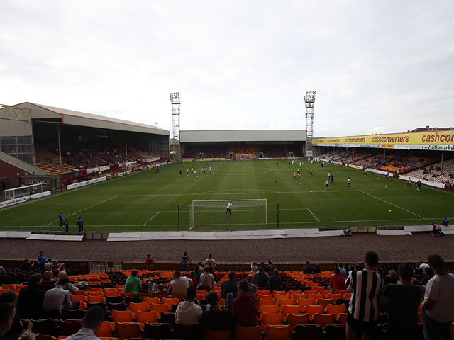 A general view of Fir Park, home of Motherwell on July 16, 2013