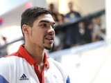 Olympic medal winner Louis Smith visits Huntingdon Gymnastics Club to inspire the nation to join in local sports on August 18, 2012