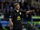 Thomas Hitzlsperger of Everton during the Barclays Premier League match between Reading and Everton at Madejski Stadium on November 17, 2012