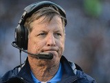 Head coach Norv Turner of the San Diego Chargers on the sidelines during a 24-21 win over the Oakland Raiders to end a 6-10 season at Qualcomm Stadium on December 30, 2012