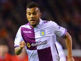 Ryan Bertrand of Aston Villa in action during the Barclays Premier League match between Liverpool and Aston Villa at Anfield on January 18, 2014