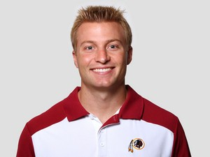 Sean McVay of the Washington Redskins poses for his NFL headshot circa 2011