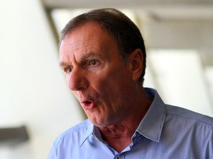 Phil Thompson during the Liverpool FC Legends Tour Pre-match press conference at Moses Mabhida Stadium on November 14, 2013 in Durban, South Africa