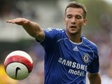 Andriy Shevchenko in action for Chelsea on September 23, 2006.
