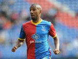 Elliot Grandin of Crystal Palace during a Pre Season Friendly between Crystal Palace and Lazio at Selhurst Park on August 10, 2013