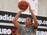 Dante Exum during practise at the adidas Eurocamp on June 10, 2013