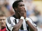 Patrick Kluivert in action for Newcastle United on September 09, 2004.