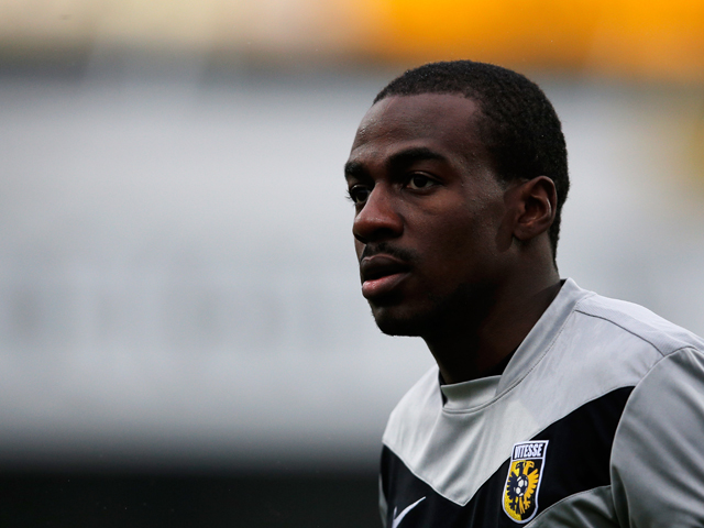 Gael Kakuta of Vitesse looks on during the Eredivisie match between VVV Venlo and Vitesse Arnhem at the Seacon Stadion De Koel on December 9, 2012