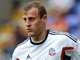 David Wheater of Bolton Wanderers during the Sky Bet Championship match between Bolton Wanderers and Queens Park Rangers at Reebok Stadium on August 24, 2013