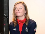 Emma Lonsdale of Great Britain poses during the Team GB Kitting Out ahead of Sochi Winter Olympics on Ja
