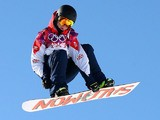 Jamie Nicholls of Great Britain competes in the Men's Slopestyle Qualification during the Sochi 2014 Winter Olympics at Rosa Khutor Extreme Park on February 6, 2014