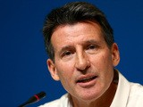 British Olympic Association chairman Lord Sebastian Coe attends a press conference ahead of the Sochi 2014 Winter Olympics at the Main Press Center (MPC) on February 6, 2014