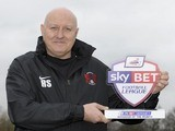 Leyton Orient boss Russell Slade win his Manager of the Month award on February 6, 2014