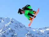Seamus O'Connor of Ireland competes in the Men's Slopestyle Qualification during the Sochi 2014 Winter Olympics at Rosa Khutor Extreme Park on February 6, 2014