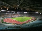 A general view of the Stadio Olimpico on November 03, 2004.