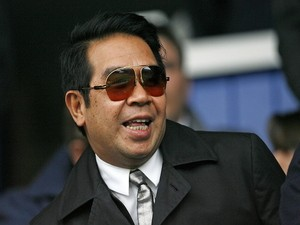 Birmingham City's owner Carson Yeung before the FA Cup Quarter Final football match between Portsmouth and Birmingham City at Fratton Park in Portsmouth, southern England on March 6, 2010