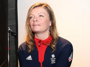 Emma Lonsdale of Great Britain poses during the Team GB Kitting Out ahead of Sochi Winter Olympics on January 23, 2014