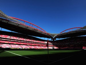 A general view of Estadio da Luz, home of Benfica on May 2, 2013