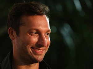 Ian Thorpe arrives at Crown's IMG Tennis Player's Party at Crown Towers on January 13, 2013