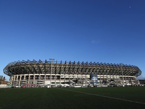 General view of Murrayfield, home of Scottish Rugby on February 7, 2014