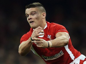 Tavis Knoyle of Wales passes the ball out during the international match between Wales and New Zealand at Millennium Stadium on November 24, 2012