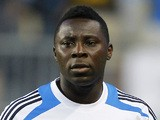 Freddy Adu of the Philadelphia Union walks onto the pitch before the start of a Major League Soccer game against Real Salt Lake on August 24, 2012