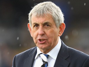 Sir Ian McGeechan, the Bath director of rugby looks on during the Aviva Premiership match between Bath and London Wasps at the Recreation Ground on April 21, 2012