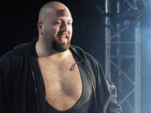 The Big Show is introduced during the WWE Smackdown Live Tour at Westridge Park Tennis Stadium in South Africa on July 8, 2011