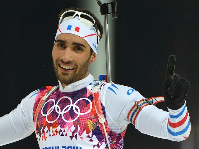 Martin Fourcade Martin Fourcade delighted to win gold for France ...