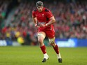 Dan Lydiate of Wales during the RBS Six Nations match between Ireland and Wales at the Aviva Stadium on February 8, 2014
