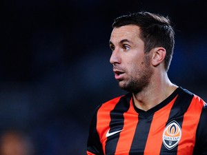 Darijo Srna of FC Shakhtar Donetsk looks on during the UEFA Champions League Group A match between Real Sociedad de Futbol and FC Shakhtar Donetsk on September 17, 2013