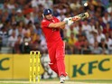 Luke Wright of England bats during game three of the International Twenty20 series between Australia and England at ANZ Stadium on February 2, 2014