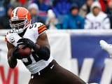 D'Qwell Jackson #52 of the Cleveland Browns in action against New England Patriots on December 8, 2013