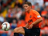 John Rankin of Dundee United in action during the Scottish Premier League match between Dundee United and Inverness Caledonian Thistle at Tannadice Park on August 10, 2013