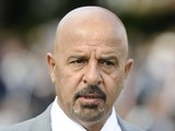 Owner Dr. Marwan Koukash attends York Races at York racecourse on August 19, 2011