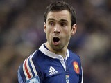 France's Morgan Parra reacts against South Africa during an International match on November 23, 2013