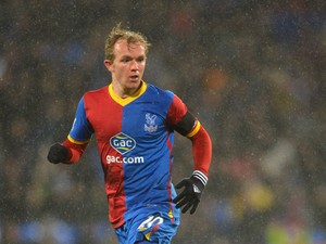 Jonathan Williams of Crystal Palace during the Barclays Premier League match between Crystal Palace and Norwich City at Selhurst Park on January 1, 2014