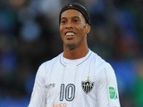 Ronaldinho of Atletico Mineiro reacts during the FIFA Club World Cup 3rd Place Match on December 21, 2013