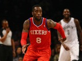Tony Wroten #8 of the Philadelphia 76ers in action against the Brooklyn Nets during their game on December 16, 2013