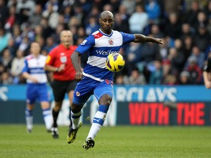 Jason Roberts of Reading during the Barclays Premier League match between Reading and Everton at Madejski Stadium on November 17, 2012