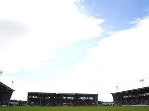 A general view of New Meadow, home of Shrewsbury Town FC on September 21, 2013
