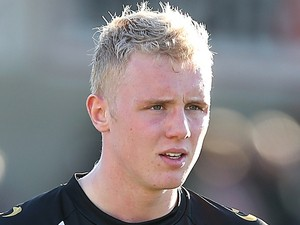 Jack Grimmer of Port Vale in action during the Sky Bet League One match between Coventry City and Port Vale at Sixfields Stadium on March 16, 2014