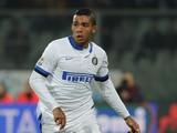 Juan Jesus of Inter in action during the Serie A match between ACF Fiorentina and FC Internazionale Milano at Stadio Artemio Franchi on February 15, 2014