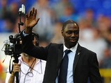 Former Spurs player Ledley King waves to fans during the Barclays Premier League match between Tottenham Hotspur and West Bromwich Albion at White Hart Lane on August 25, 2012