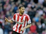 Carlos Cuellar of Sunderland in action during the Barclays Premier League match between Sunderland and Newcastle United at Stadium of Light on October 27, 2013