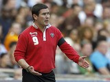Sheffield United manager Nigel Clough on the touchline against Hull during the FA Cup semi final match on April 13, 2014