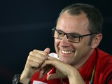 Ferrari Team Principal Stefano Domenicali attends the official press conference following practice for the Australian Formula One Grand Prix at Albert Park on March 14, 2014