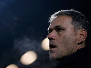 Heerenveen head coach Marco van Basten looks on prior to Eredivisie match between PEC Zwolle and SC Heerenveen on December 13, 2013