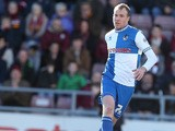 Bristol Rovers' David Clarkson in action against Northampton during the League Two match on April 26, 2014