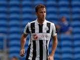 Ryan Taylor of Newcastle in action during the pre-season match between Cardiff City and Newcastle United at Cardiff City Stadium on August 11, 2012